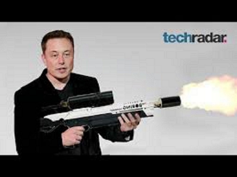 Elon Musk's Boring Company flamethrowers are on Ebay for $20000